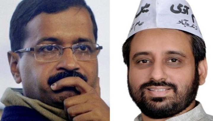 "Delhi Violence: Arvind Kejriwal's Right Hand Amanatullah Khan Defends Tahir Hussein, Blames BJP For ""False Case"""