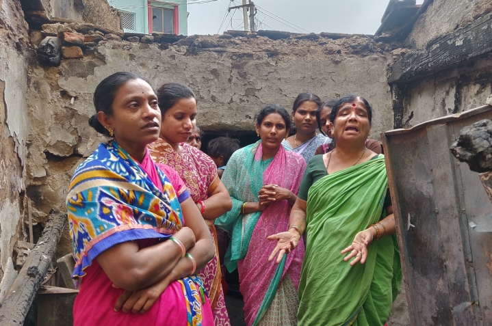 A Month After Communal Fire Destroyed Everything They Owned, Bhainsa Victims Struggle To Rebuild Lives, Allege Government Apathy