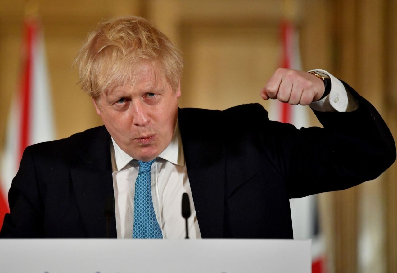 Britain's PM Boris Johnson.