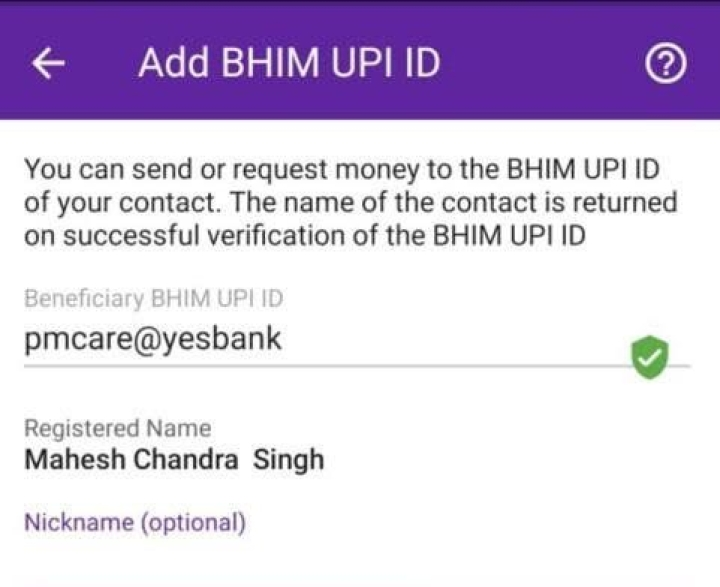 Many Fraudsters Try To Make Quick Bucks In Covid-19 Crisis By Creating UPI Addresses Similar To PM Cares