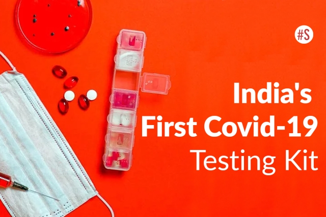 Here's All About The First 'Made in India' COVID-19 Testing Kit