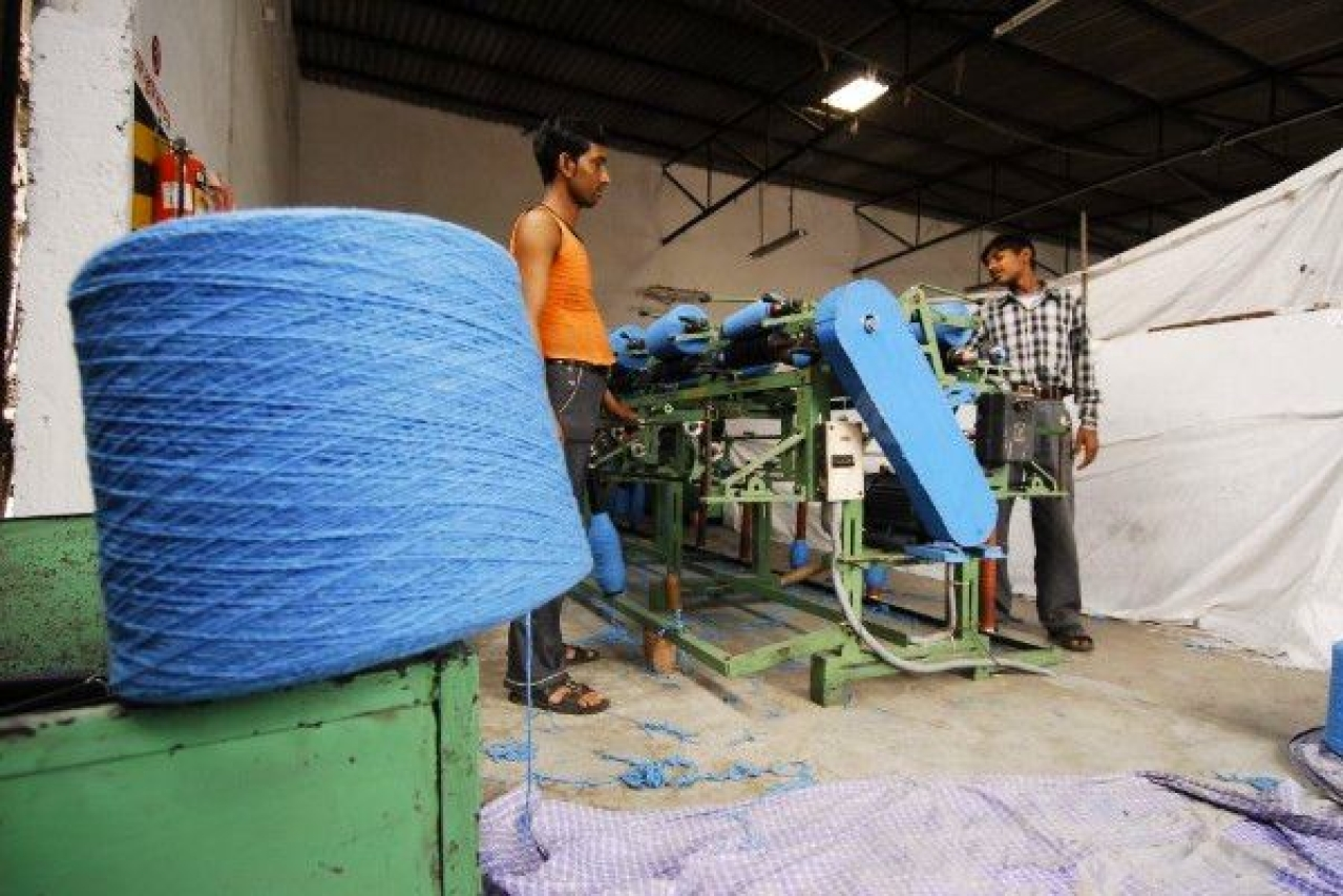 View of a textile factory. (Photo by Pradeep Gaur/Mint via Getty Images)