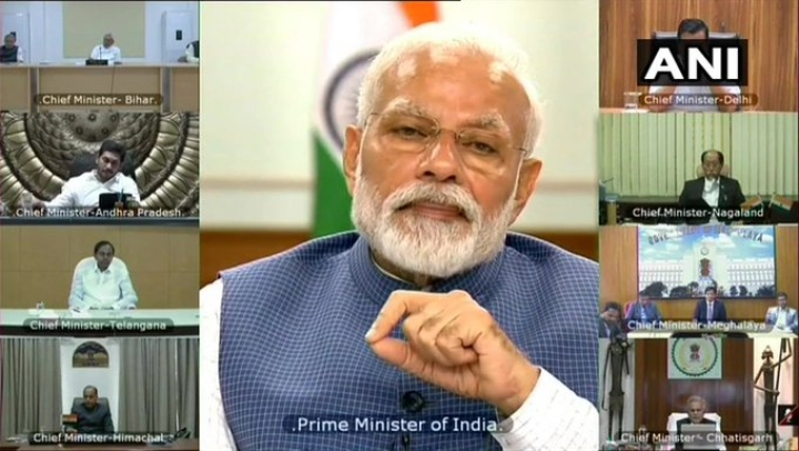 'Common Strategy Needed For Re-emergence Of People's Movement After Lockdown: PM At Video-Conference With CMs