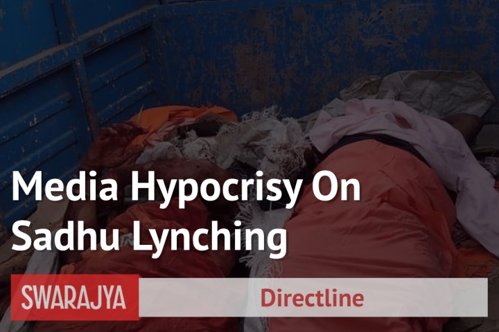 Palghar Lynching: Mainstream Media Predictably Chose To Downplay Violent Incident Against Sadhus
