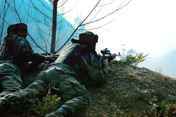 'At Point Blank Range': A Blow-By-Blow Account Of The Firefight In Which Five Indian Special Forces Men Died Fighting Terrorists
