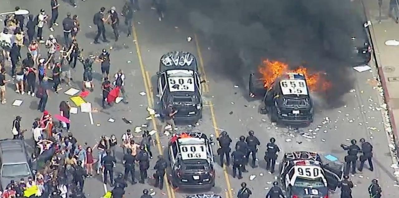 Several US Cities Under Curfew As George Floyd Protests Turn ...