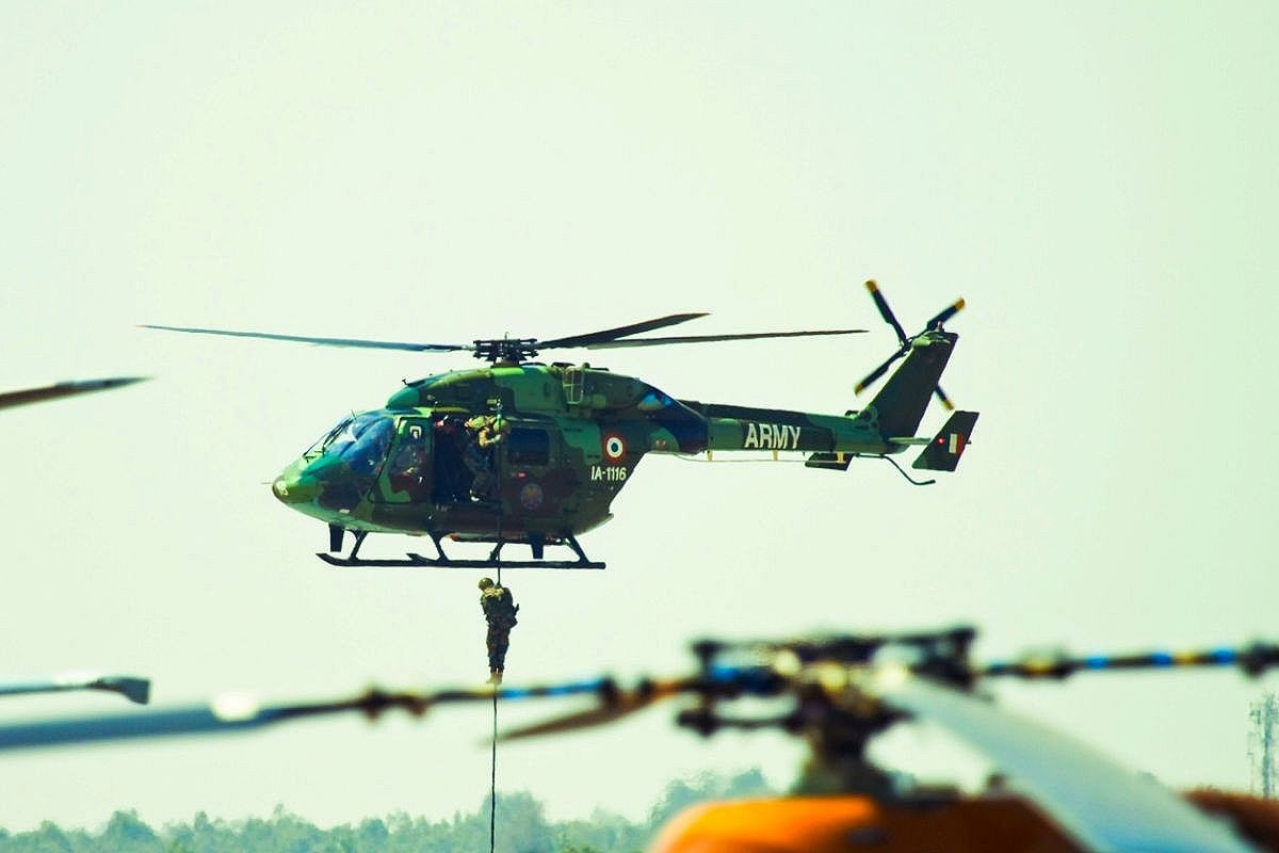 A helicopter of the Indian Army (Representative Image)