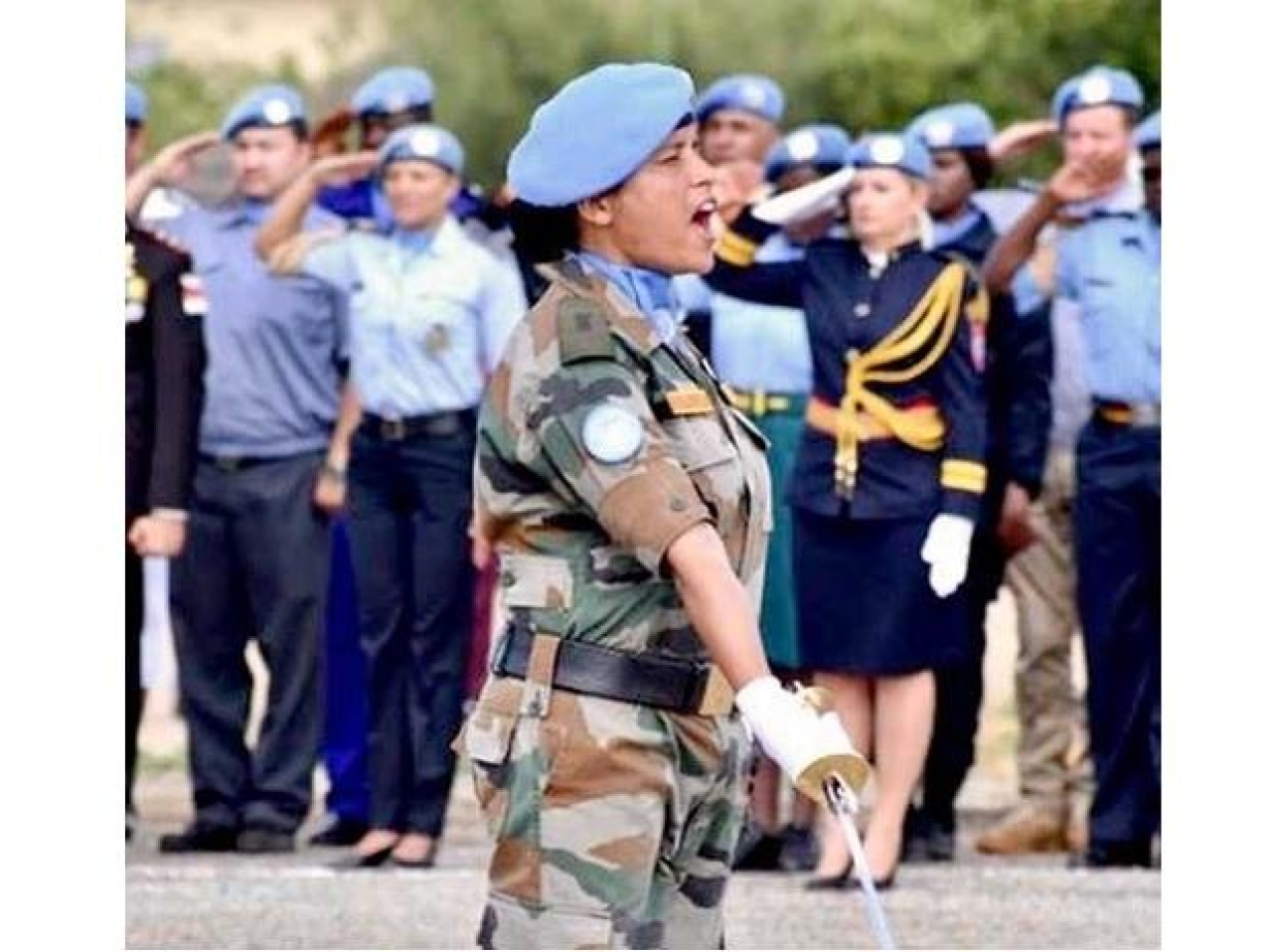 Indian Army's Major Suman Gawani Honoured With Top United Nations ...