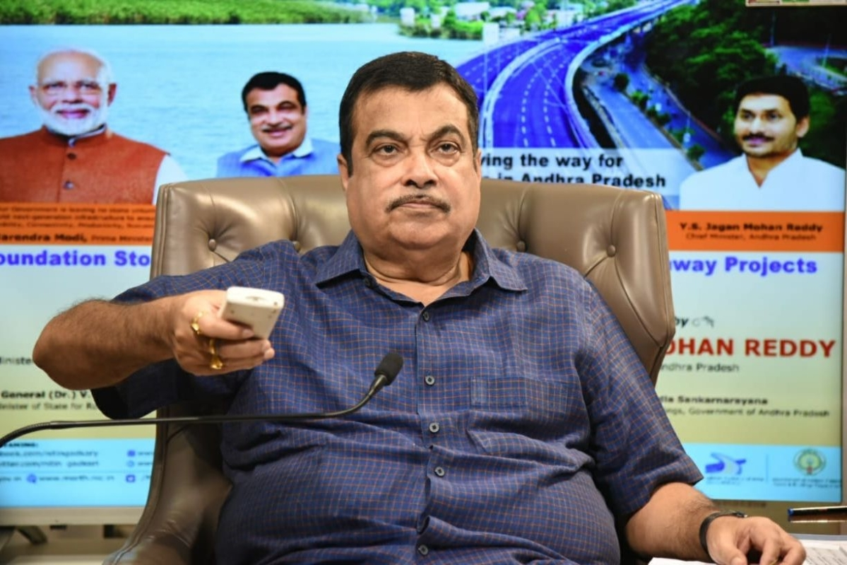Nitin Gadkari, Infrastructural projects, Minister of Road Transport and Highways, Jharkhand