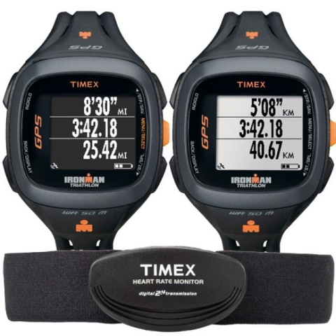 The Timex Ironman One GPS+:  A Kindle for your Wrist