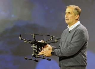 The Birth Of Drones With Intel Inside