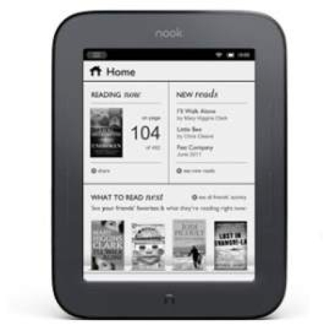 New Nook offers two month battery life on a single charge