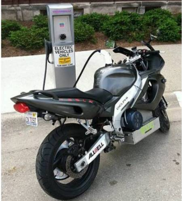 E-motorcycle offers hot ride, keeps the cool