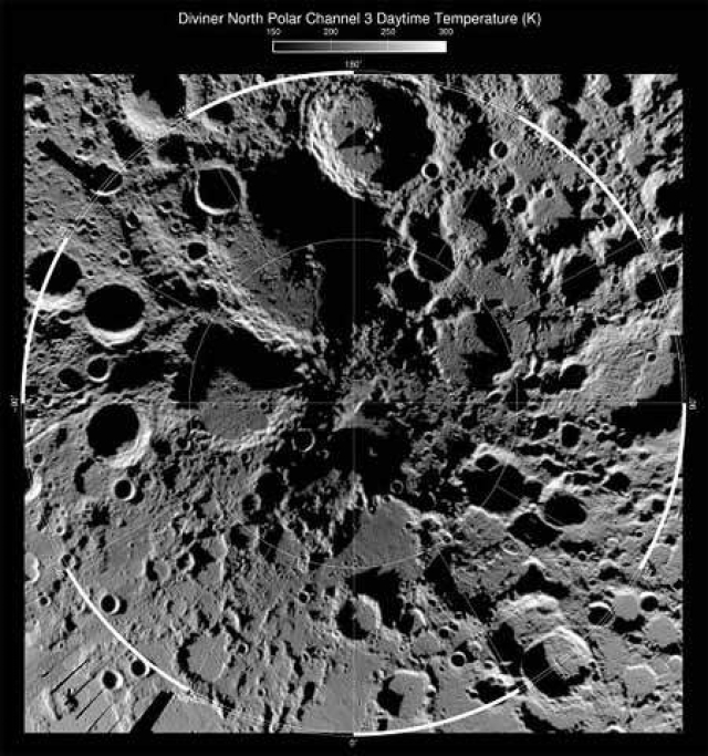 NASA finds signs of water on the moon