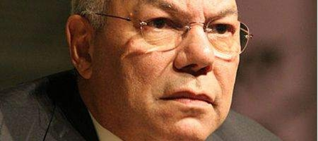 Colin Powell's Facebook page defaced