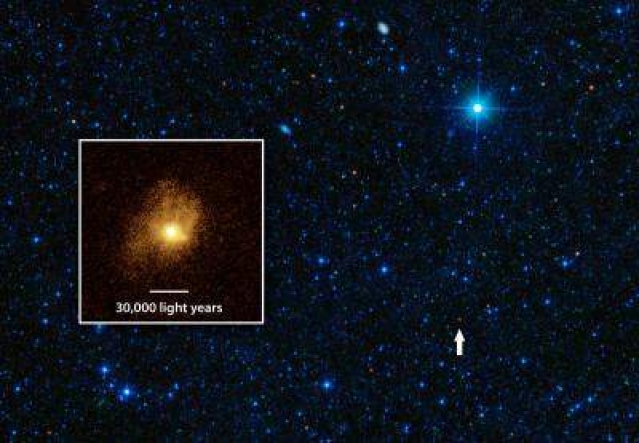 This galaxy turns gas into stars