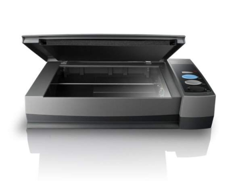 Plustek scanner eliminates paper books