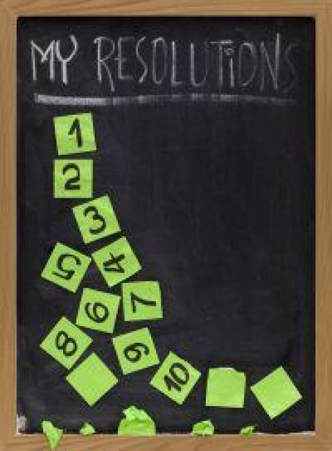 How to best keep New Year's resolutions