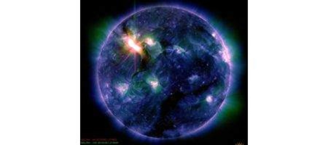 Earth hit by major solar storm
