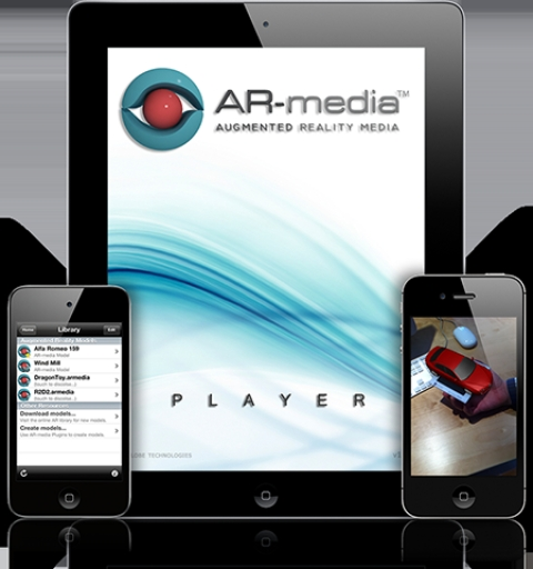 ARmedia Augmented Reality Player for Android