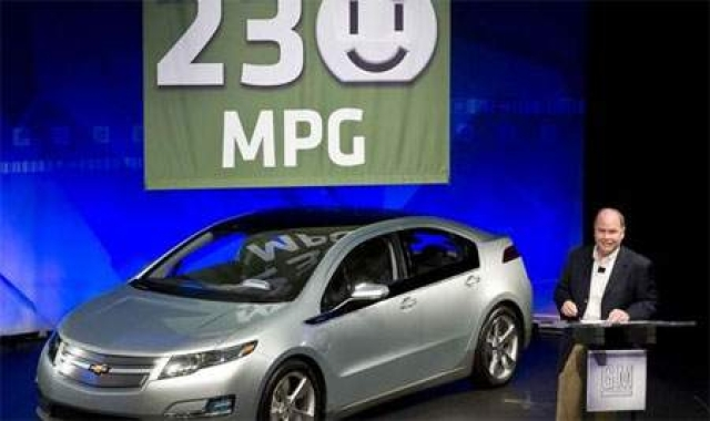2011 Volt gets stunning 230 mpg EPA rating
