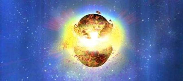 Did cosmic collision flood medieval Earth with gamma rays?