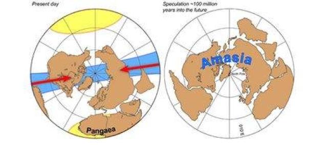 Next supercontinent will form at North Pole