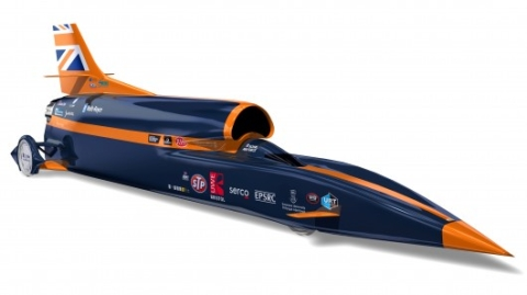 3D printing to help Bloodhound SSC break 1,000 mph