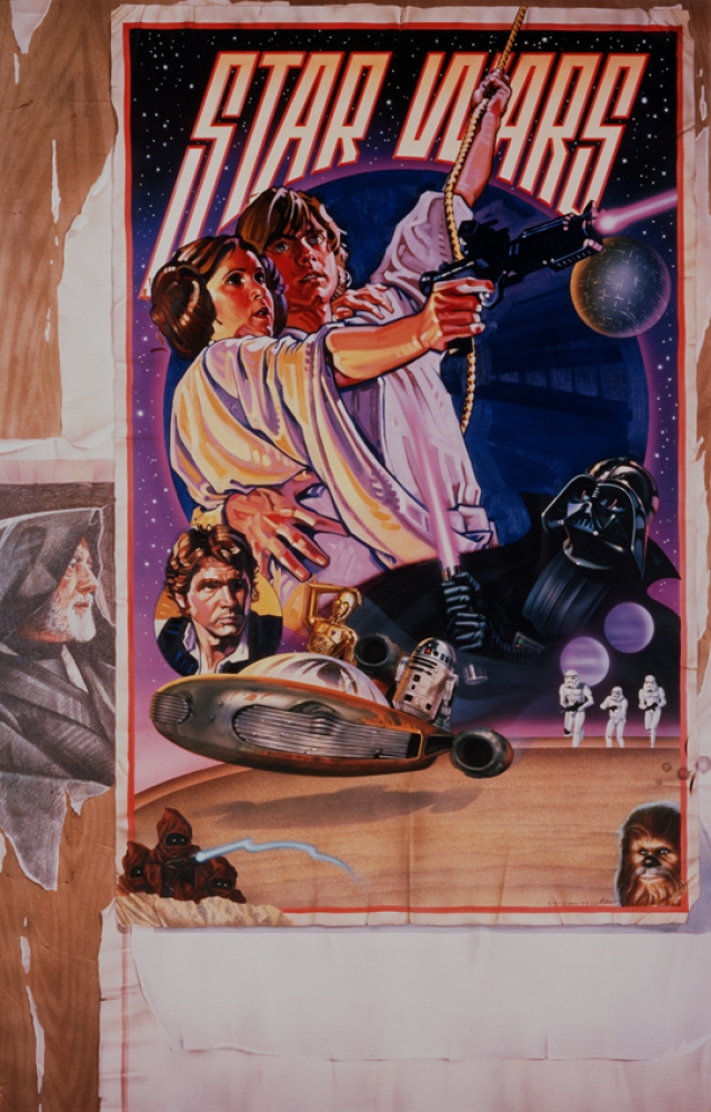 About that legendary Star Wars poster