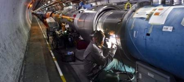 CERN boosts LHC power in hunt for Higgs boson