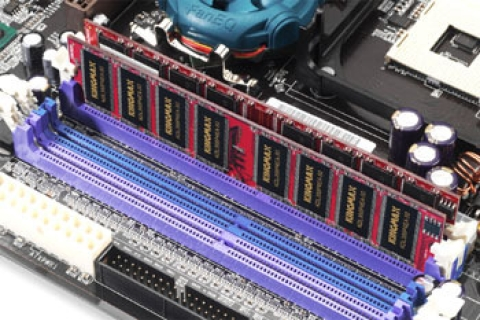 Kingmax release Dual DDR memory modules