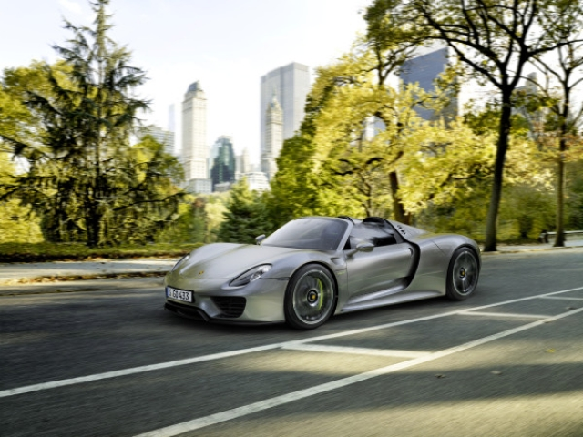 porsche seconds spyder hits hybrid via