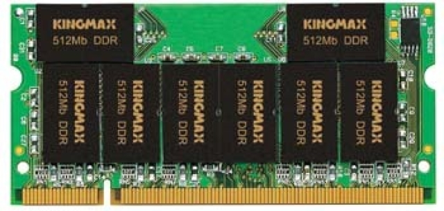 Kingmax announce 1GB DDR SO-DIMM
