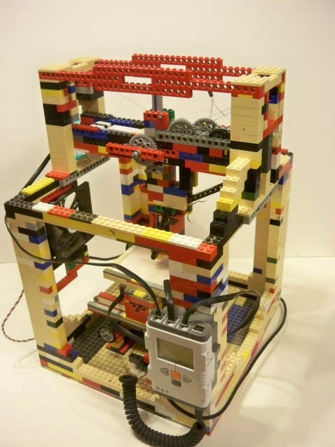 3D Printers too Pricey? Build a LEGO one.