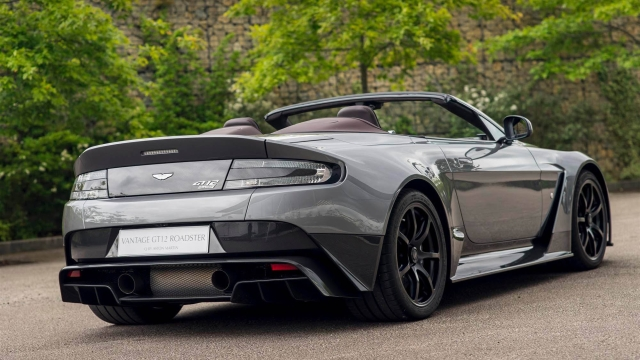 A Glimpse at The Aston Martin Vantage GT12 Roadster