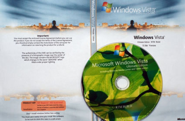 Windows Vista Ultimate for $3.50