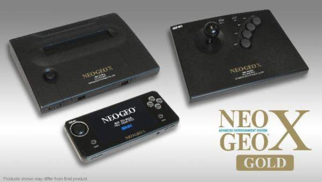 Neo Geo X Gold retro console launches 12/6