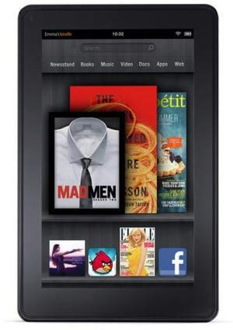 Kindle Fire is already #2 in tablet wars