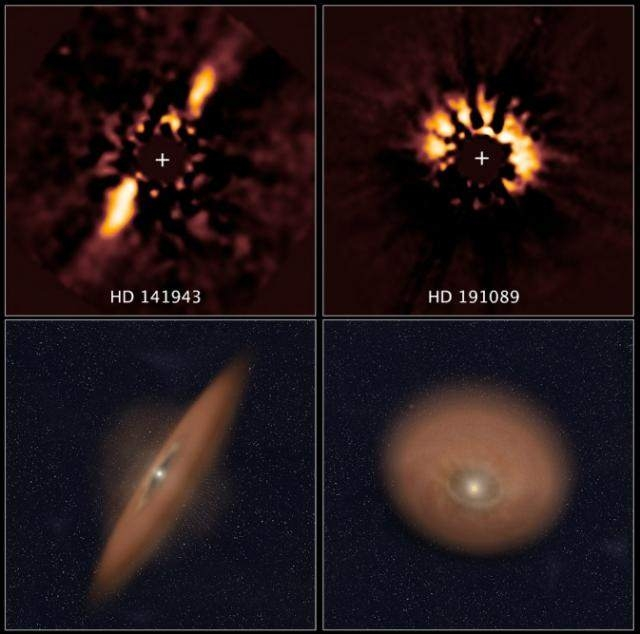Astronomical forensics spot planetary disks in NASA's Hubble archive