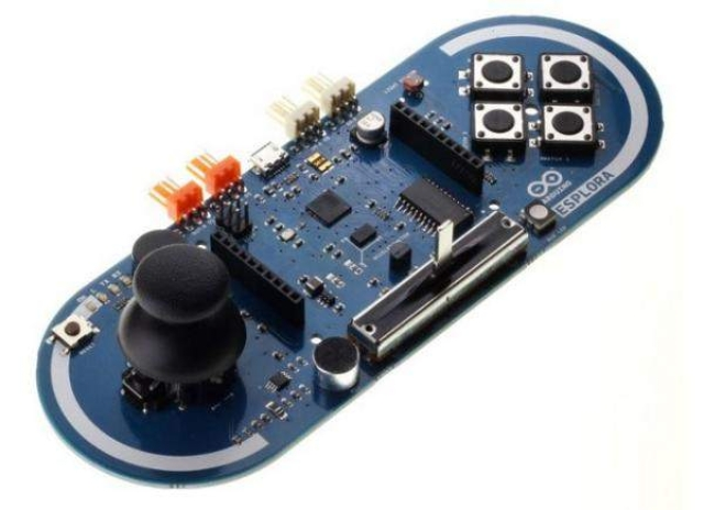 Arduino Esplora is ready out of the box - sans soldering
