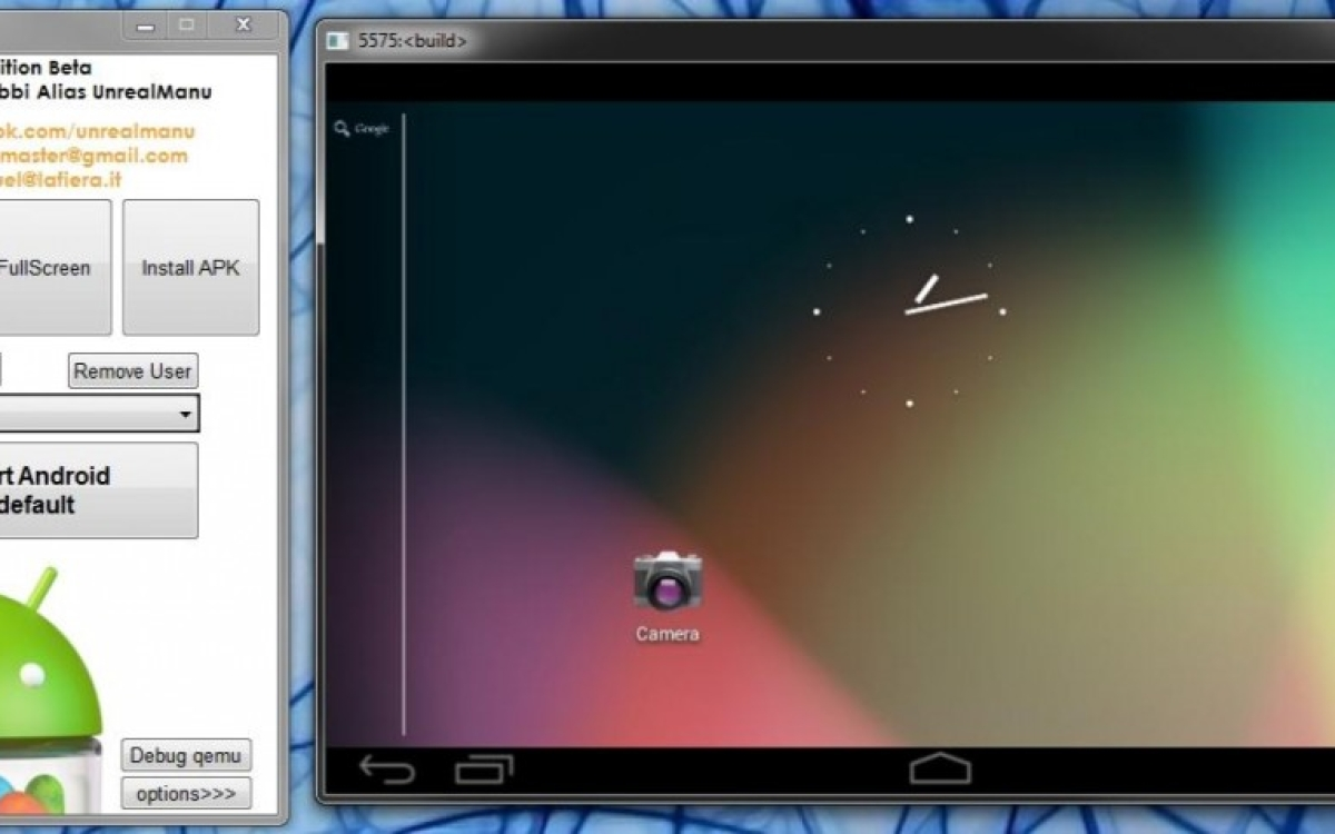 Jar of Beans is a portable Android emulator