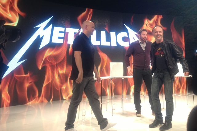 Metallica clinches Spotify deal