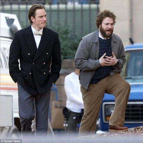 First Pic of Michael Fassbinder as Steve Jobs Surfaces