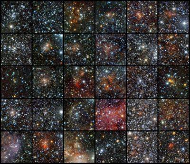 Vista telescope finds 96 star clusters obscured by Milky Way dust