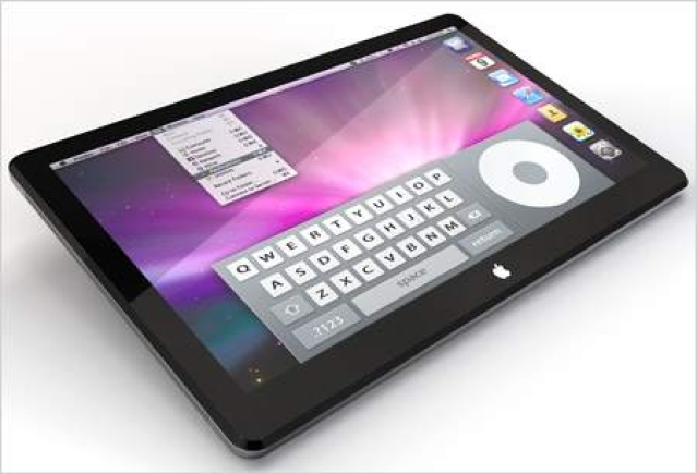 Enigmatic Apple tablet looks like a bigger iPhone