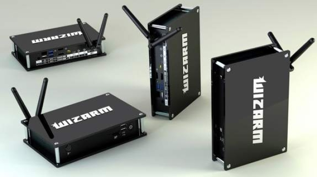 Wizarm is an ARM-powered TV box