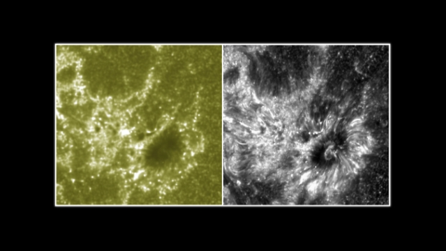 NASA's IRIS telescope offers first image of Sun's mysterious atmosphere
