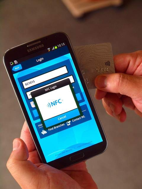 Using NFC as a secure smart card reader