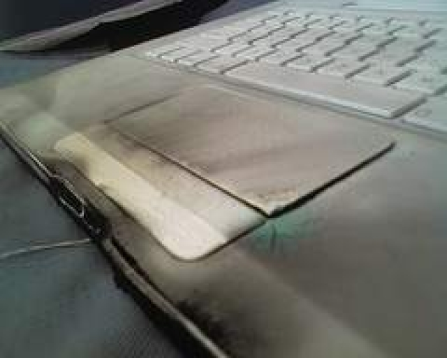 Dude, your MacBook is on fire!