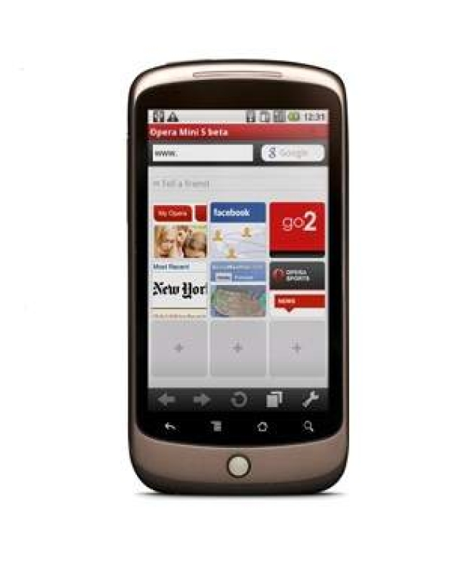 Opera upgrades Android mobile browser